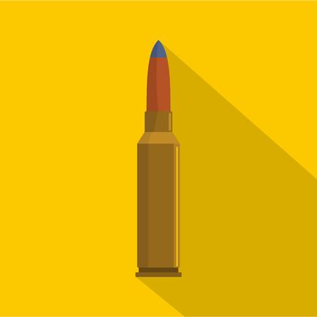 Short cartridge icon. Flat illustration of short cartridge icon for web