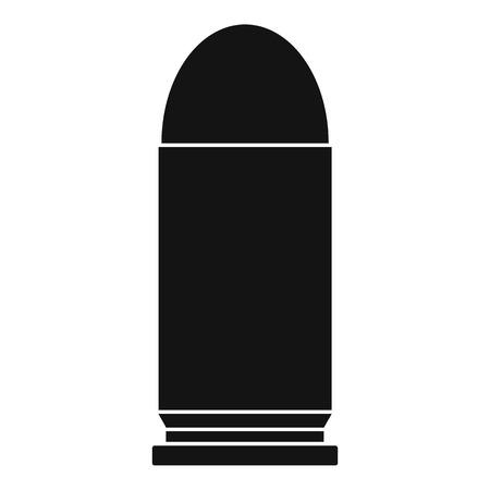 Single cartridge icon. Simple illustration of single cartridge icon for web Stok Fotoğraf