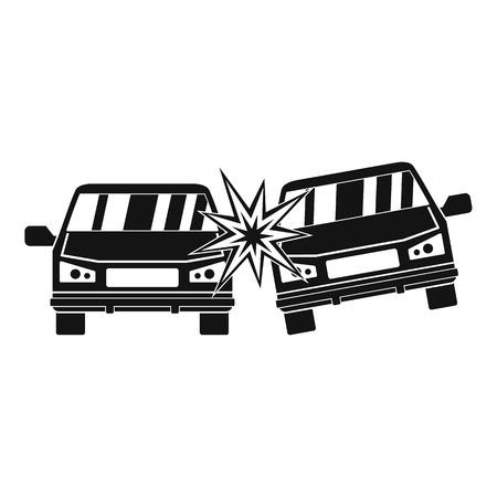 Boom car icon. Simple illustration of boom car icon for web Stockfoto