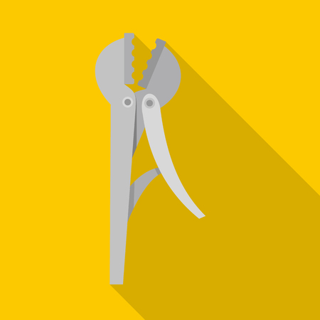 Wire cutter icon. Flat illustration of wire cutter icon for web Stock Photo