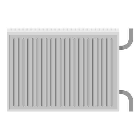 Radiator icon. Flat illustration of radiator icon for web