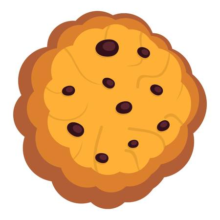 Shortbread icon. Flat illustration of shortbread icon for web