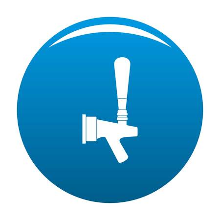 Big tap icon blue
