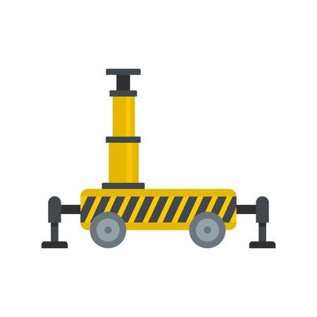Platform equipment icon. Flat illustration of platform equipment icon for web