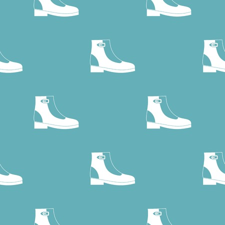 Woman boots pattern seamless repeating for any web design