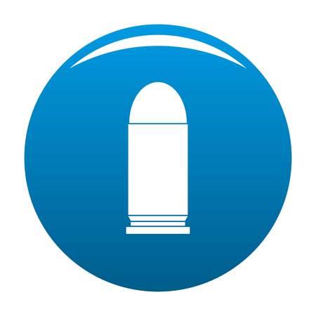 Single cartridge icon blue