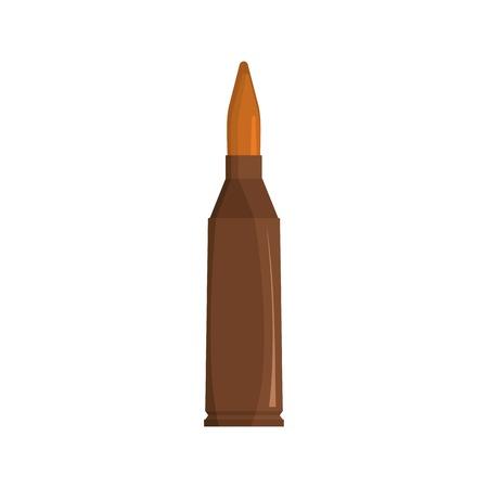 Ammunition icon, flat style