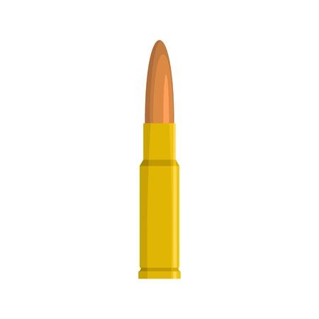 Big bullet icon. Flat illustration of big bullet icon for web
