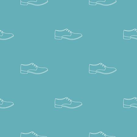 Men shoe pattern seamless Stock Photo