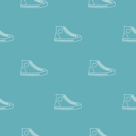 Men shoe pattern seamless repeating for any web design Stock Photo