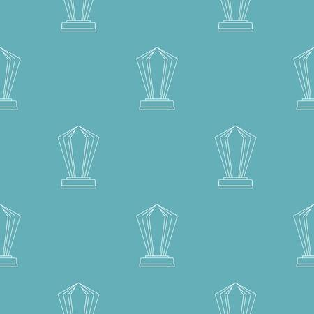 Award pattern seamless repeating for any web design