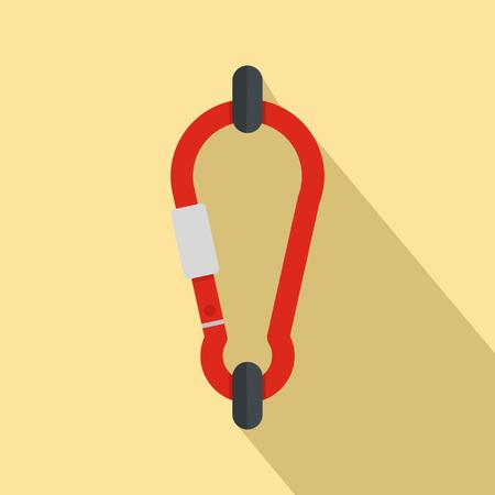 Carabine icon. Flat illustration of carabine icon for web design Stock Photo