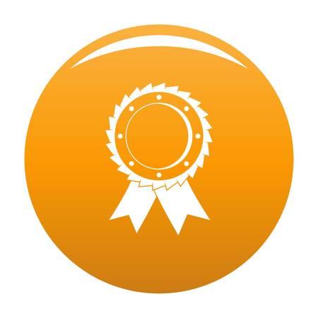 Award icon in orange color