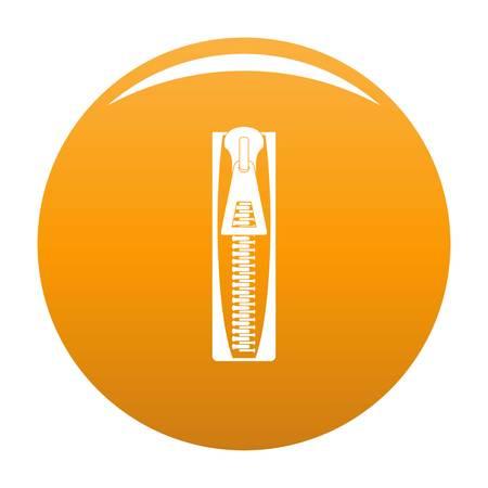 Zip icon orange