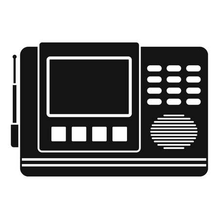 House intercom icon, simple style