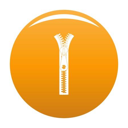 Small zip icon. Reklamní fotografie