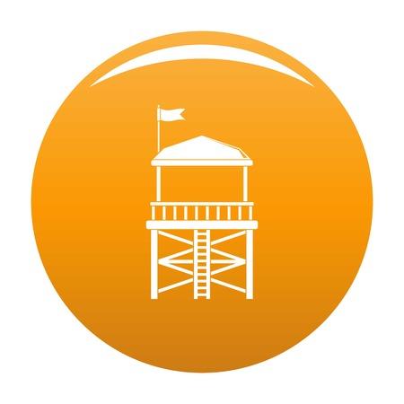 Rescue tower icon.