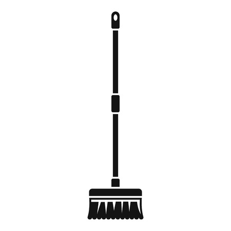 Brush mop icon. Simple illustration of brush mop icon for web design isolated on white background