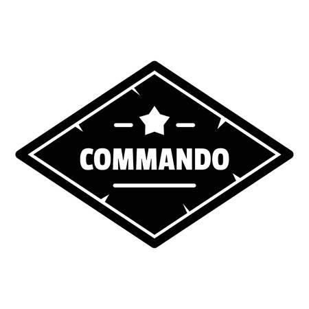 Commando troop   simple style Stock fotó