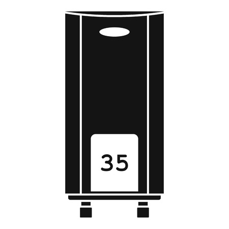 Boiler icon, simple style
