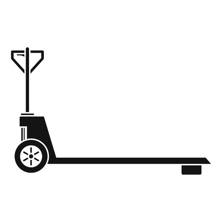 Hand lift icon, simple style