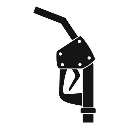 Refill fuel pistol icon. Simple illustration of refill fuel pistol icon for web design isolated on white background