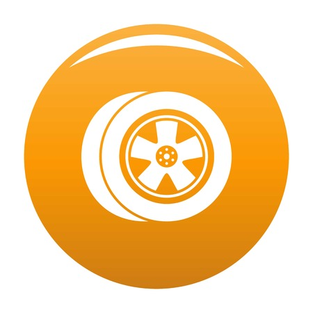 Transport icon orange