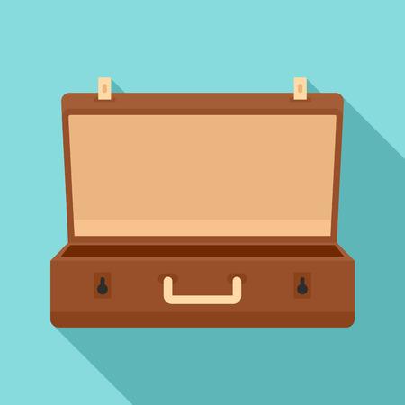 Icono de estuche de viaje. Ilustración plana del icono de vector de estuche de viaje para diseño web