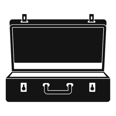 Travel case icon. Simple illustration of travel case vector icon for web design isolated on white background