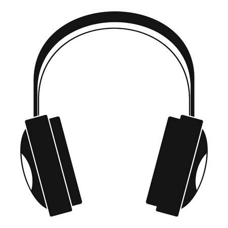 Icône de casque sans fil. Simple illustration de l'icône vecteur casque sans fil pour la conception web isolé sur fond blanc Vecteurs