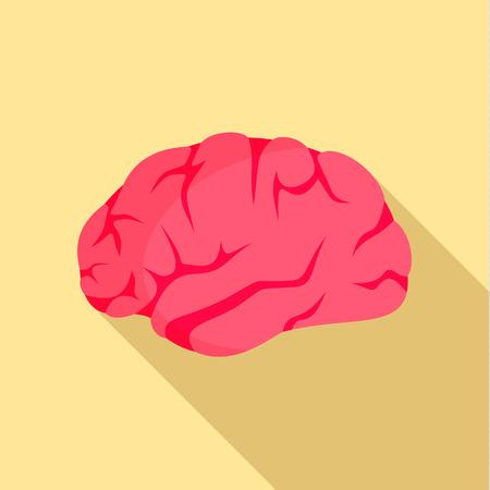 Brainstorming icon. Flat illustration of brainstorming vector icon for web design Illustration