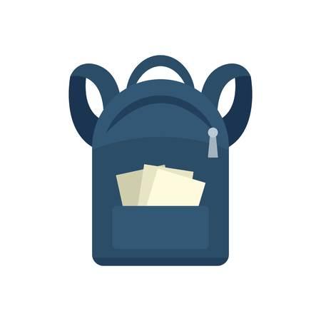Icône de sac à dos étudiant. Télévision illustration de l'icône de vecteur de sac à dos étudiant pour la conception web Vecteurs