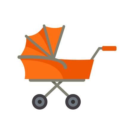 Icône de chariot enfant. Télévision illustration de l'icône de vecteur de chariot enfant pour la conception web