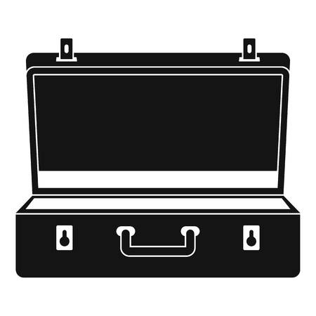 Travel case icon, simple style