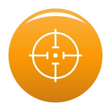 Radiodetector icon orange