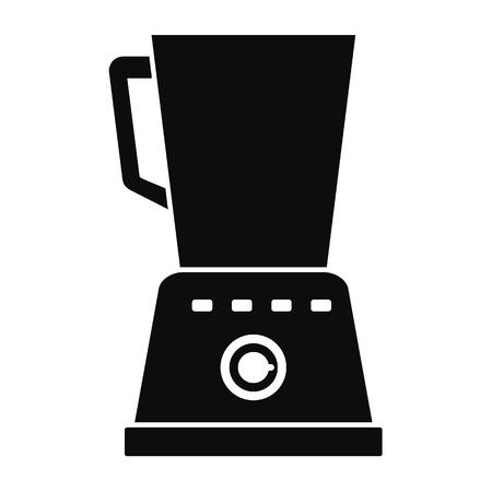 Kitchen blender icon, simple style