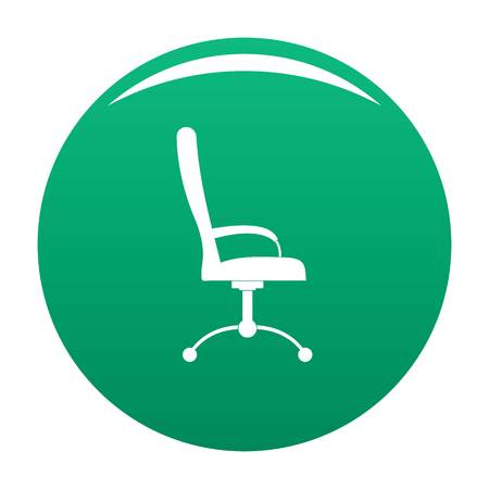 Massage chair icon green