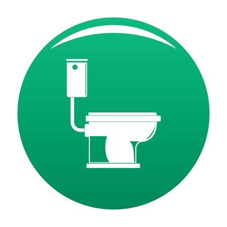 Toilet icon green