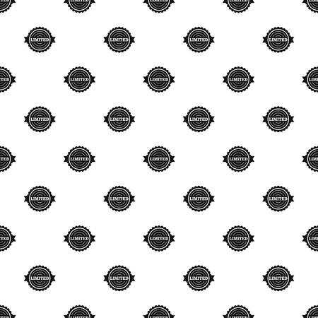 Limited pattern seamless vector repeat geometric for any web design Illustration