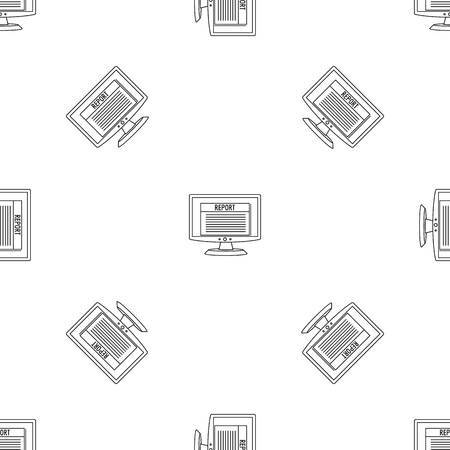 Digital tax report pattern seamless vector repeat geometric for any web design
