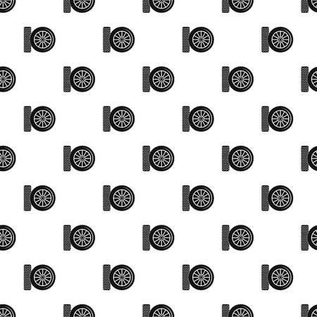 Car tire pattern seamless vector
