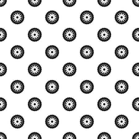 Rubber protector pattern seamless vector Vectores