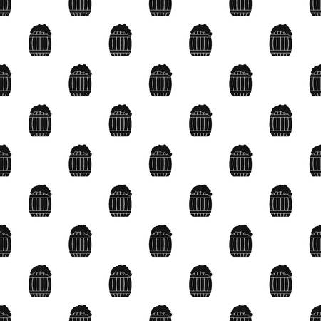 Full barrel pattern seamless vector