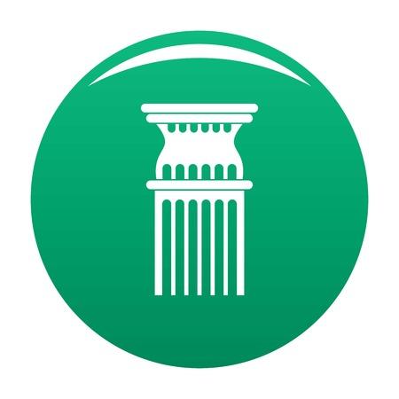 Column icon green