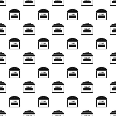 Sweets selling pattern seamless vector