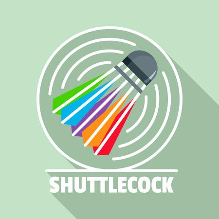 Shuttlecock flat style