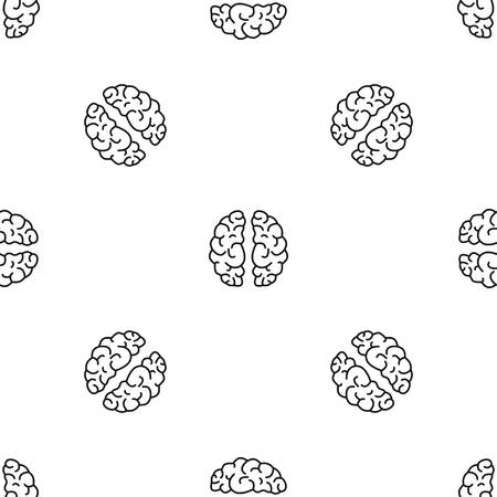 Artificial brain pattern seamless