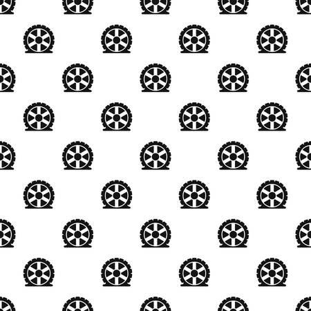 Auto tire pattern seamless