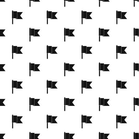 Information flag pattern seamless