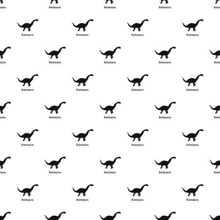 Brontosaurus pattern seamless